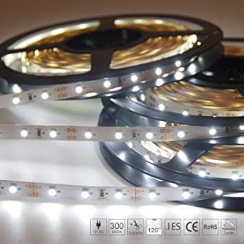 Amazon signcomplex 164ft led flexible strip lights 300 units signcomplex 164ft led flexible strip lights 300 units smd3528 leds non waterproof aloadofball Images