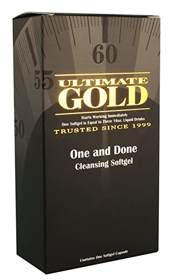 Amazon Ultimate Gold One And Done Cleansing Softgel Contains