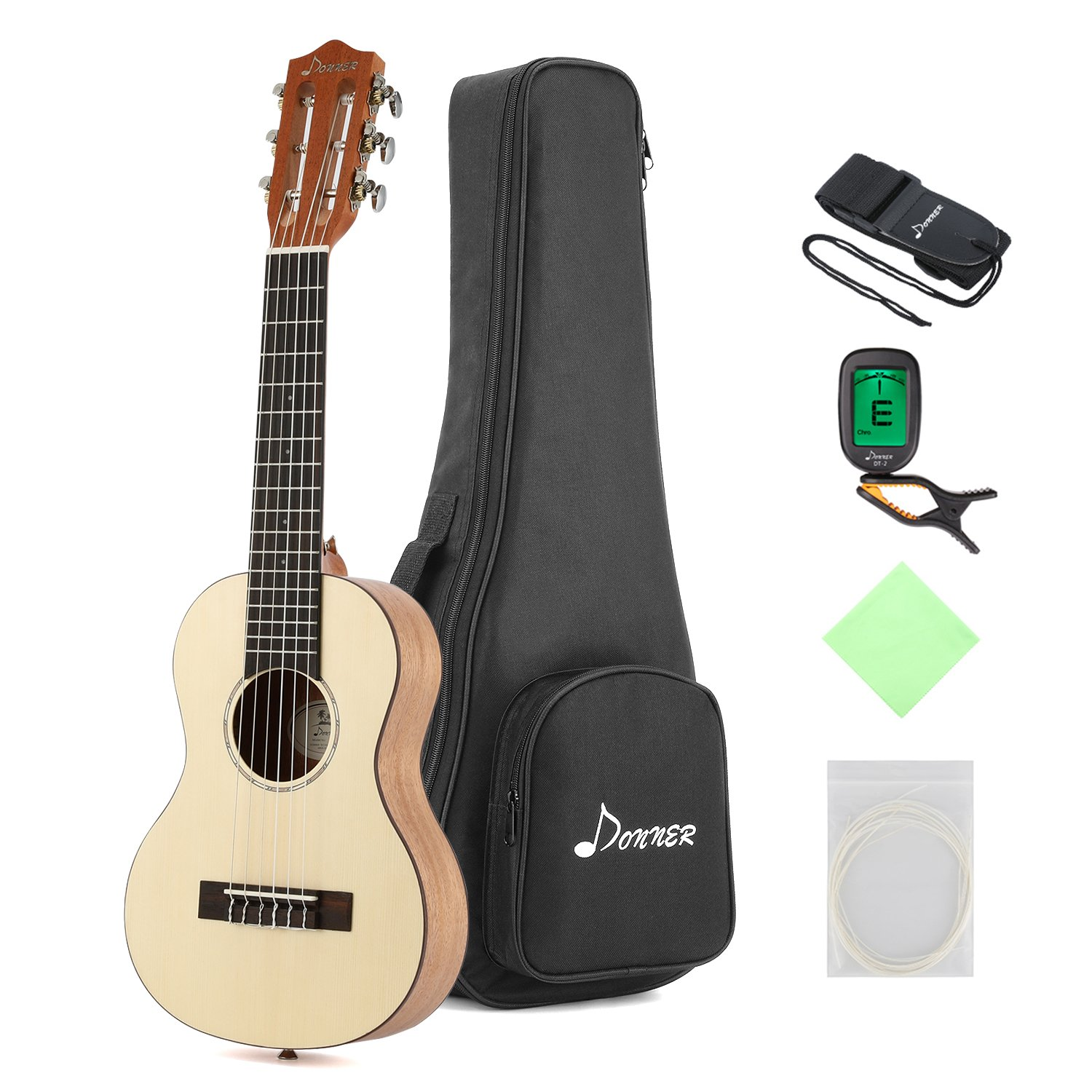 donner guitalele dgl 1 28 travel guitar ukulele