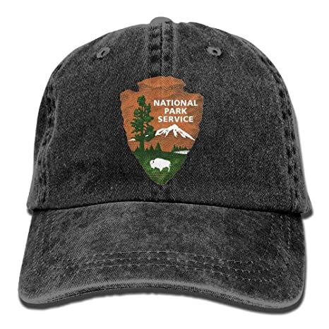 GlyndaHoa Great Smoky Mountains National Park Unisex Denim Baseball Cap  Adjustable Strap Low Profile Plain Hats f29d45d21b85