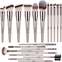 BESTOPE Makeup Brush Set 20 Pcs Premium Makeup Brushes Professional Soft Synthetic Fibers Brush Set, Face Make Up…