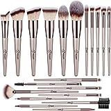 BESTOPE Makeup Brush Set 20 Pcs Premium Makeup Brushes Professional Soft Synthetic Fibers Brush Set, Face Make Up Brushes Kit