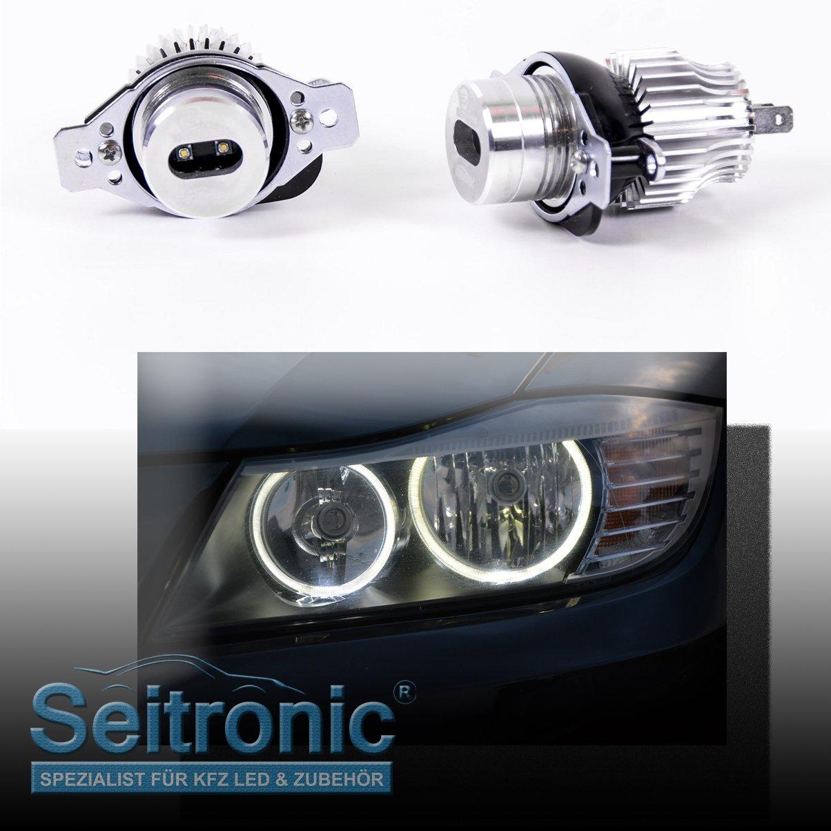depuis Electronic LD de 690 LCI LED Angel Eyes Xenon Blanc Led4car LD-690 LCI