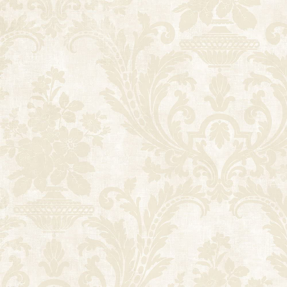 Norwall SD36156 Sari with Texture Wallpaper, Beige