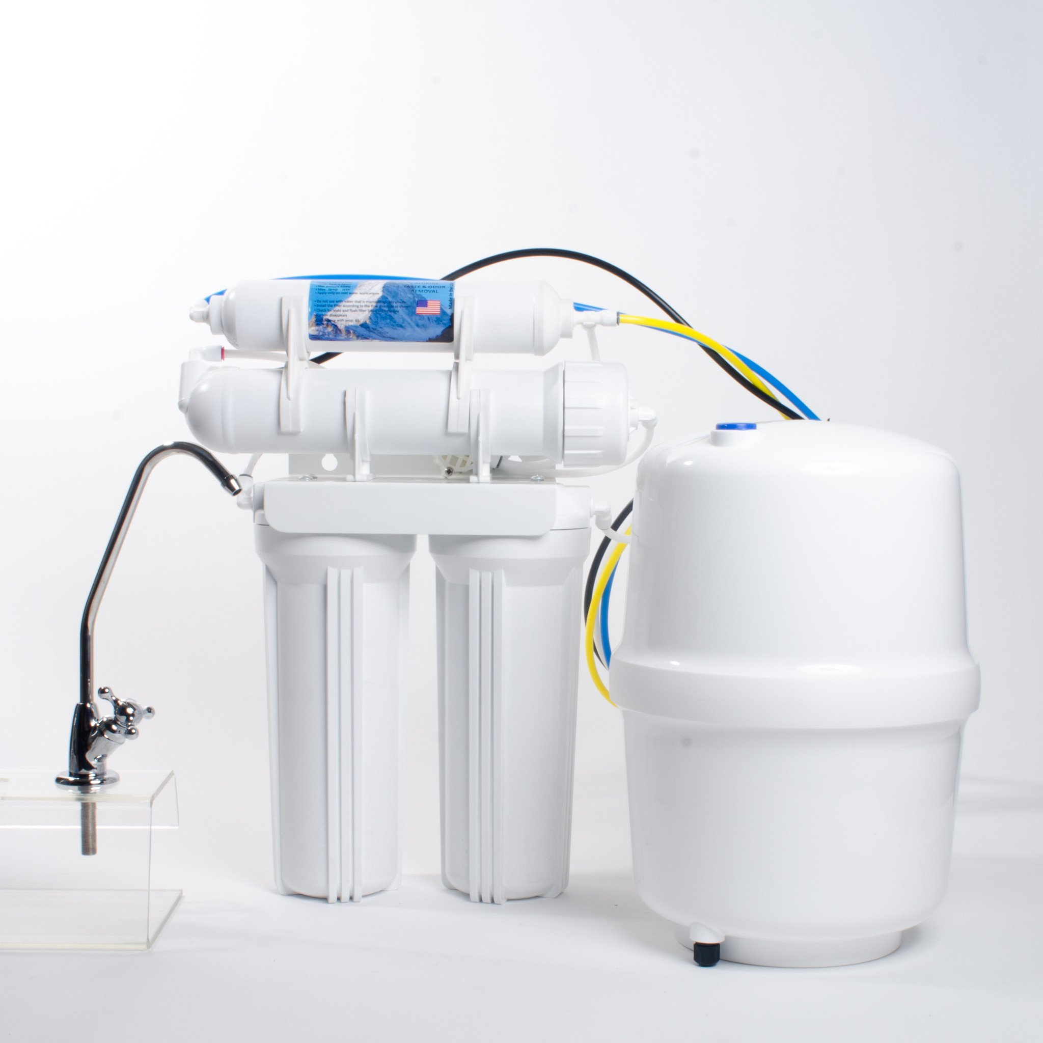 4-Stage Reverse Osmosis Water Filtration System - 50 GPD by Anchor USA