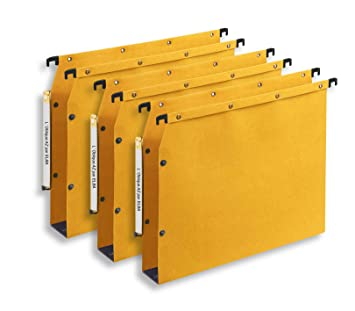 LOblique AZ AZV - Carpetas colgantes para archivador (50 mm, paquete de