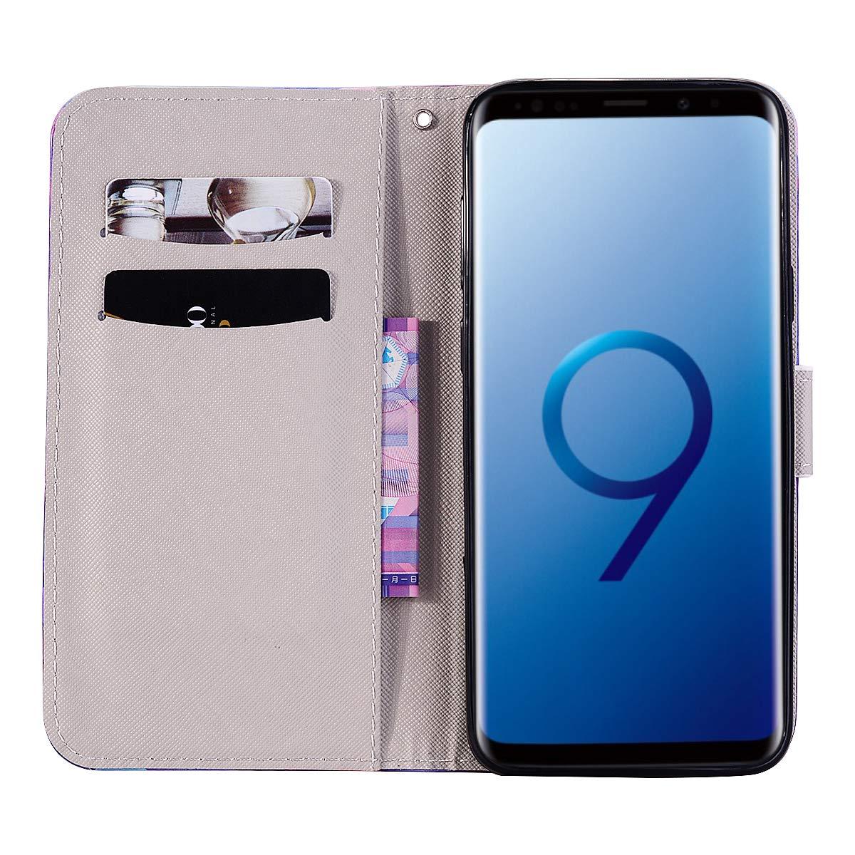 LeviDo Coque Samsung Galaxy S9 Plus Étui Silicone Motif PU Qualité ...