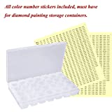 Color Number Stickers, 517 Labels for All
