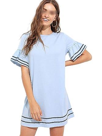 Faldas de Mezclilla Larga para Las Mujeres más nuevos Modelos de ...