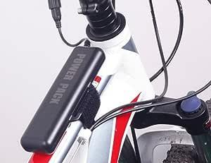 MianBaoShu Batería de repuesto para luces de bicicleta,8 ...