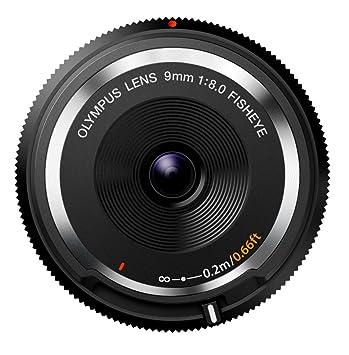 Olympus BCL-0980 - Objetivo para micro cuatro tercios para cámaras OM-D y PEN, distancia focal de 9 mm, apertura f:1:8.0 Fisheye, color negro: Amazon.es: ...
