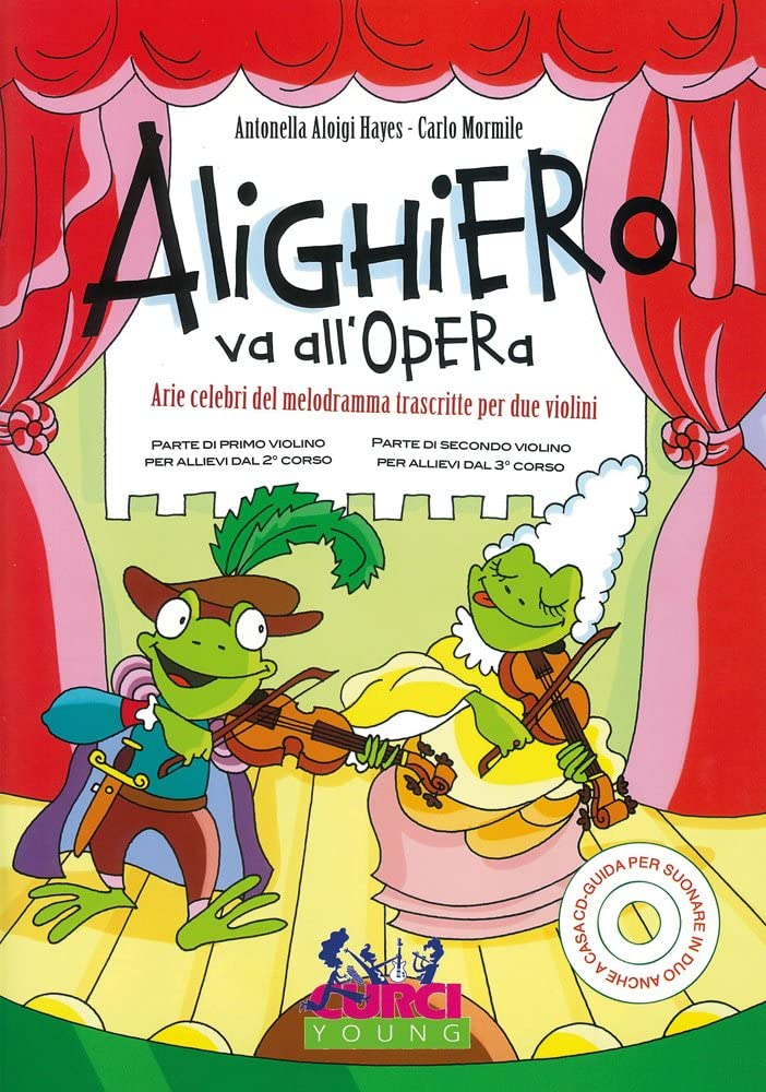 Alighiero Va All'opera - Book+Cd