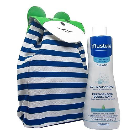 Mustela Baby Pack Sensory Bubble Bath 750ml Giant: Amazon.es: Belleza