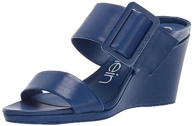 1144a367ff Amazon.com   Calvin Klein Women's Brinlee Wedge Sandal   Platforms ...