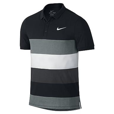 Nike para Hombre Dri Fit Cool Polo para Hombre - Negro, Medio ...