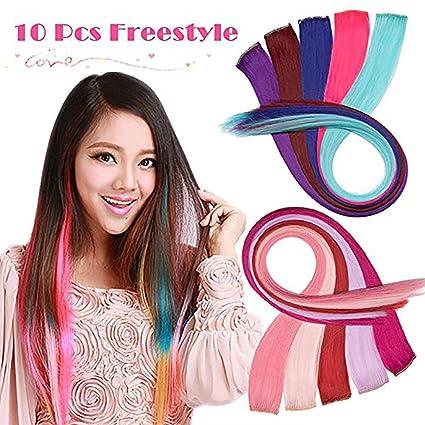 Ciocche colorate da attaccare ai capelli
