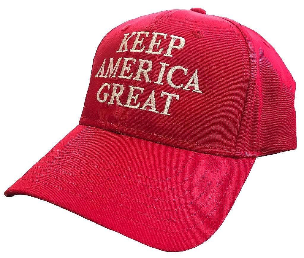 Amazon.com  Political Trump Keep America Great Embroidered Otto Baseball Cap   Clothing c4e3d2fb7fb