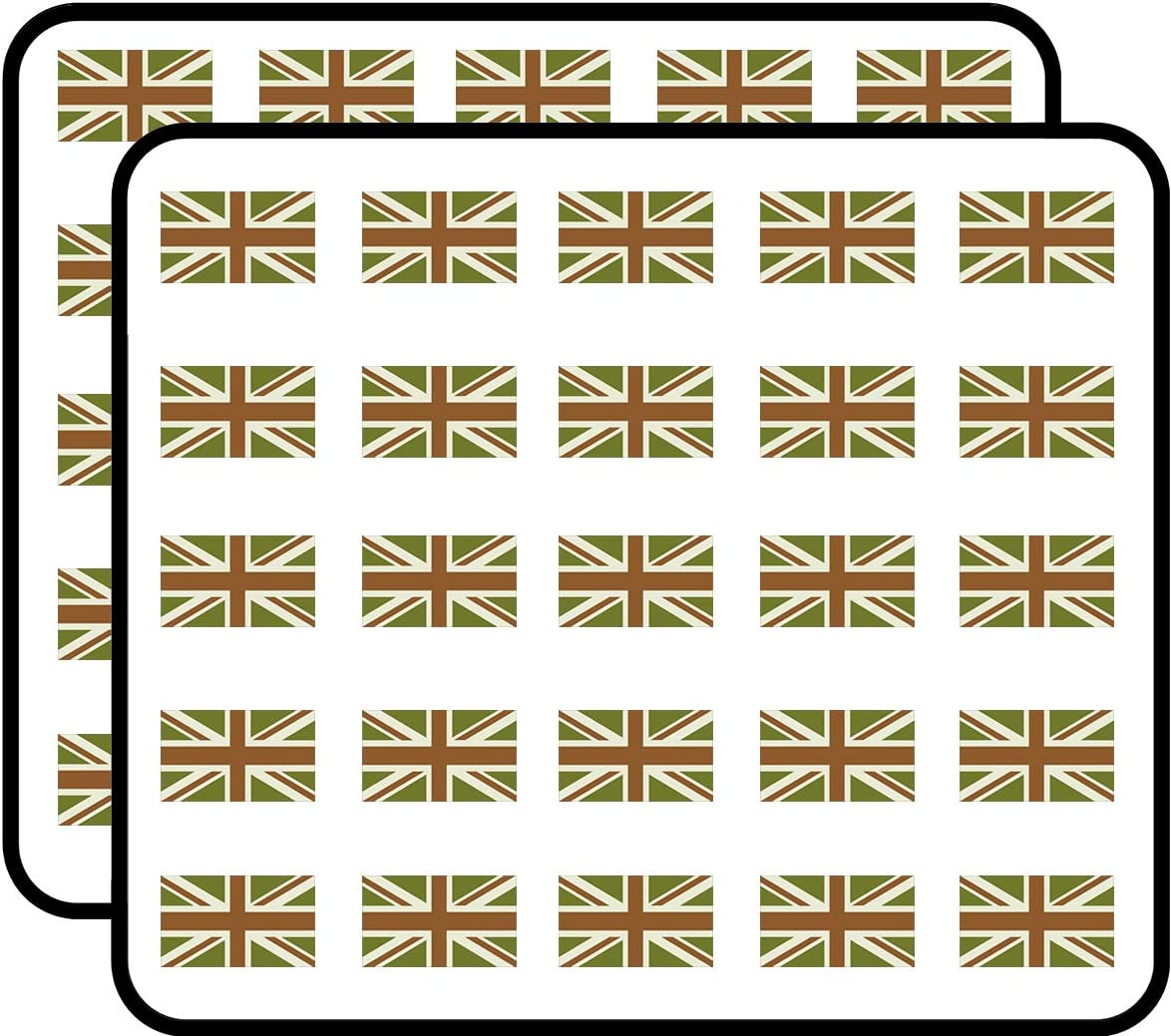 amazon com subdued colors union jack flag britain uk military sticker for scrapbooking calendars arts kids diy crafts album bullet journals amazon com
