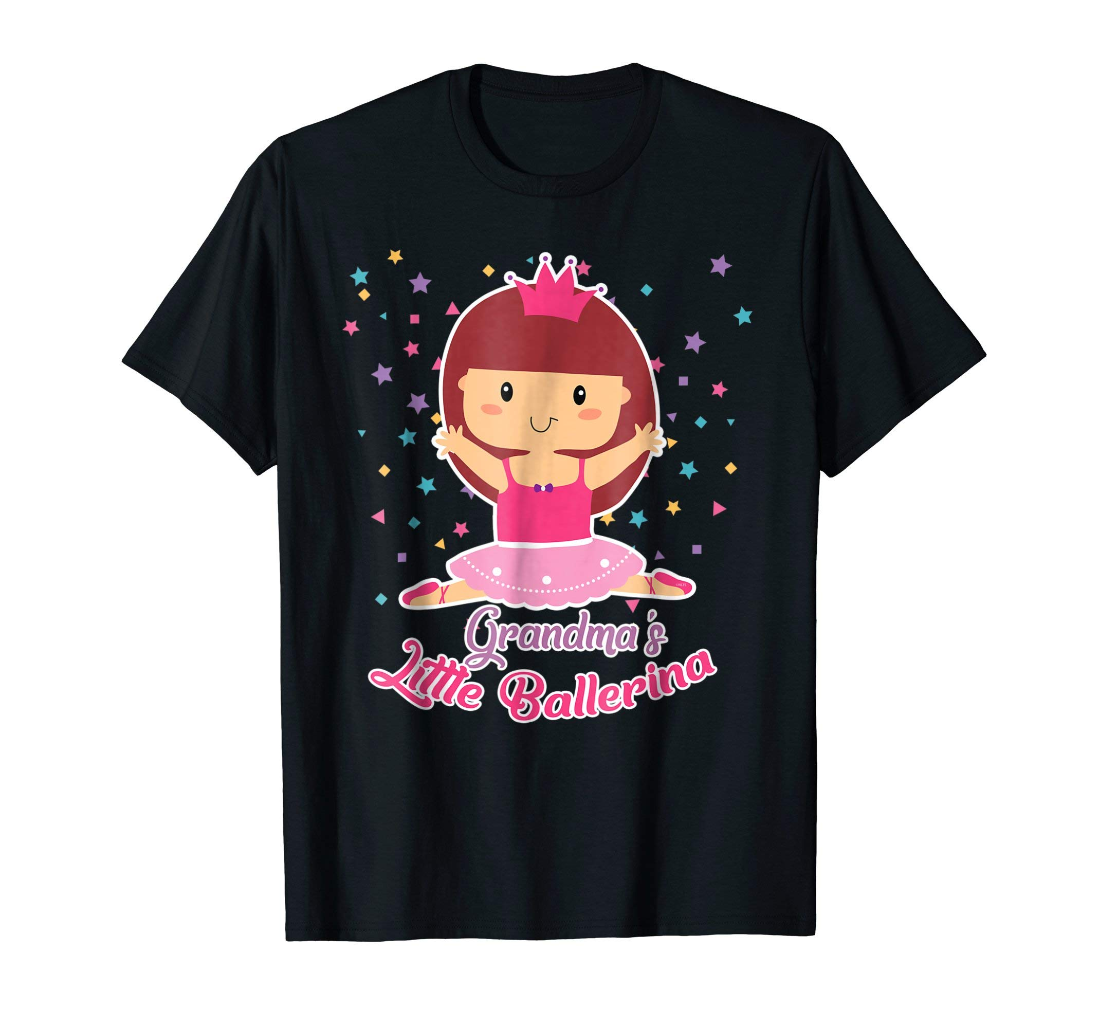 Grandmas-Little-Ballerina-Shirt-Ballet-Gifts-T-Shirt-Tee