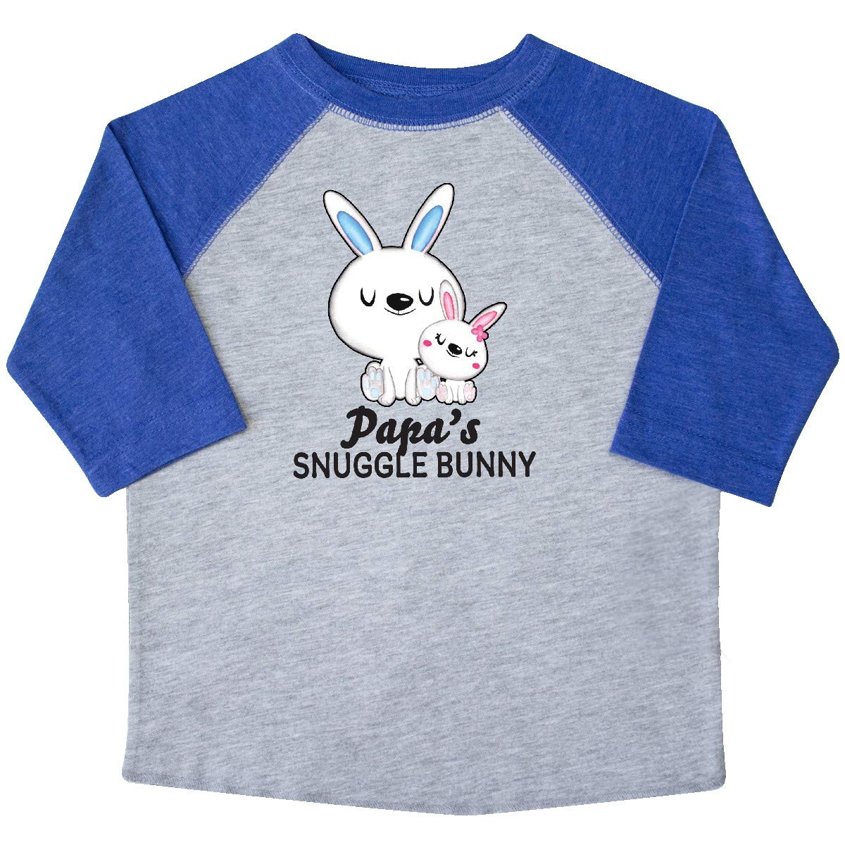 inktastic Papas Snuggle Bunny Easter Toddler T-Shirt