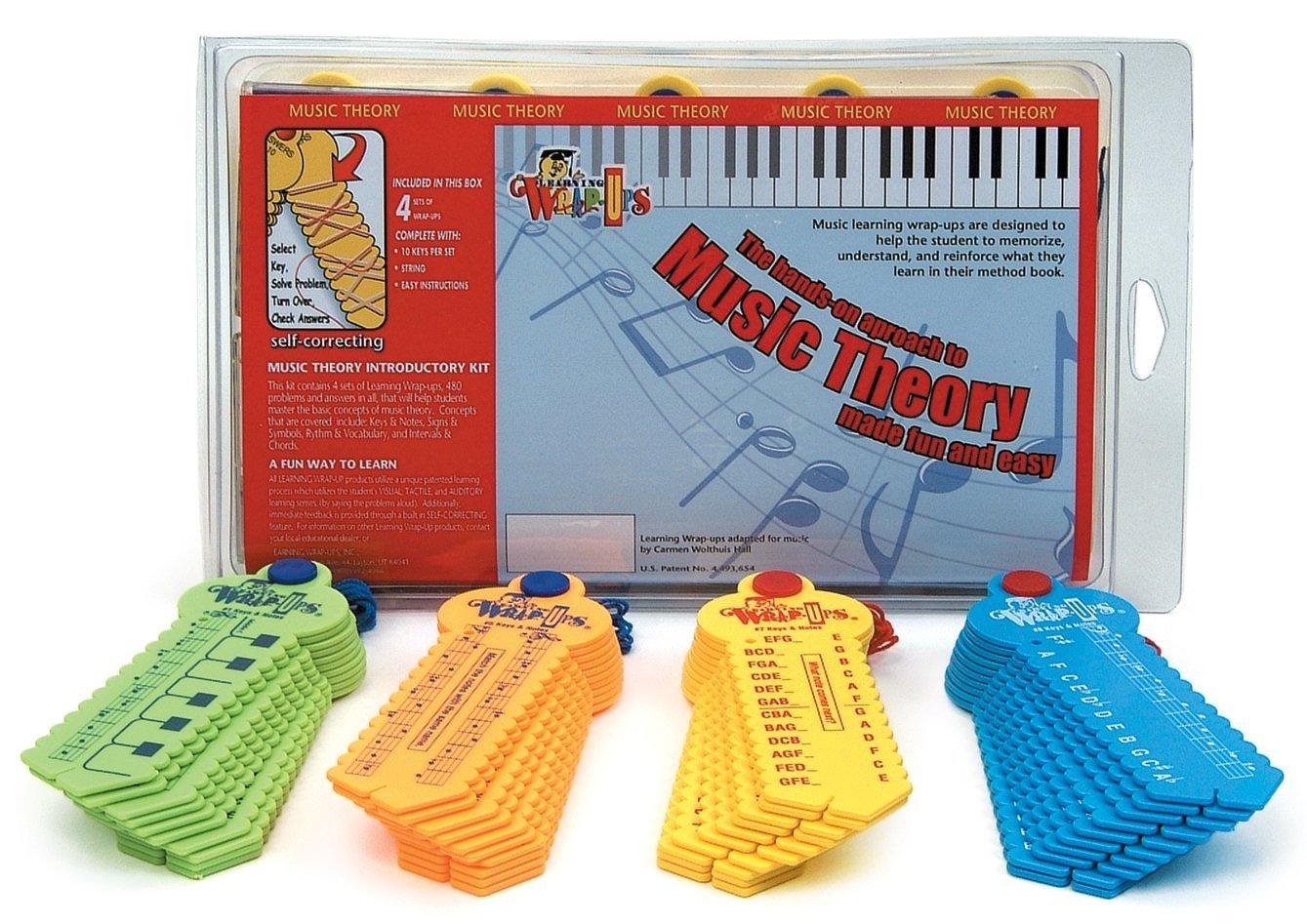 Learning Wrap-ups Music Theory Intro Self Correcting Keys Kit