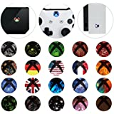 eXtremeRate Custom Home Guide Button Patterened/LED Mod Stickers for Xbox One/S/Elite/X Controller with Tools Set