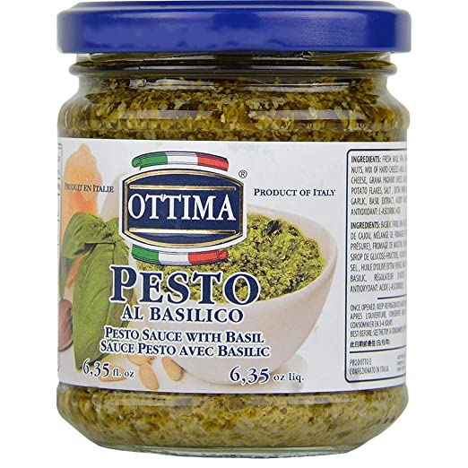Ottima Pesto Al Basilico Pesto Sauce With Basil 180 G Amazon In Grocery Gourmet Foods