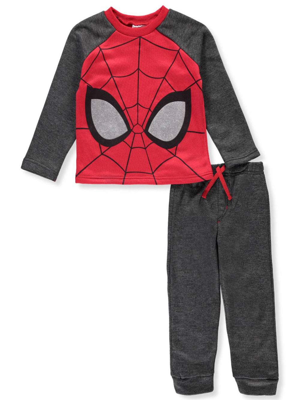 Marvel Spider-Man Boys' 2-Piece Pants Set Outfit 6