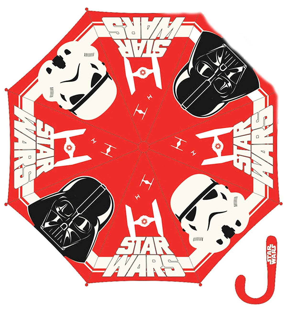 Parapluie enfant garç on Star wars Rouge diamè tre 90cm