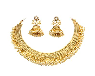 necklace sets earring set gold beautiful and exclusive