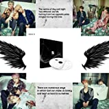 BTS WINGS [ N ver. ] Vol. 2 Album BANGTAN BOYS 2nd CD + Official Poster + Photo Book + Photo Card + Gift Sealed