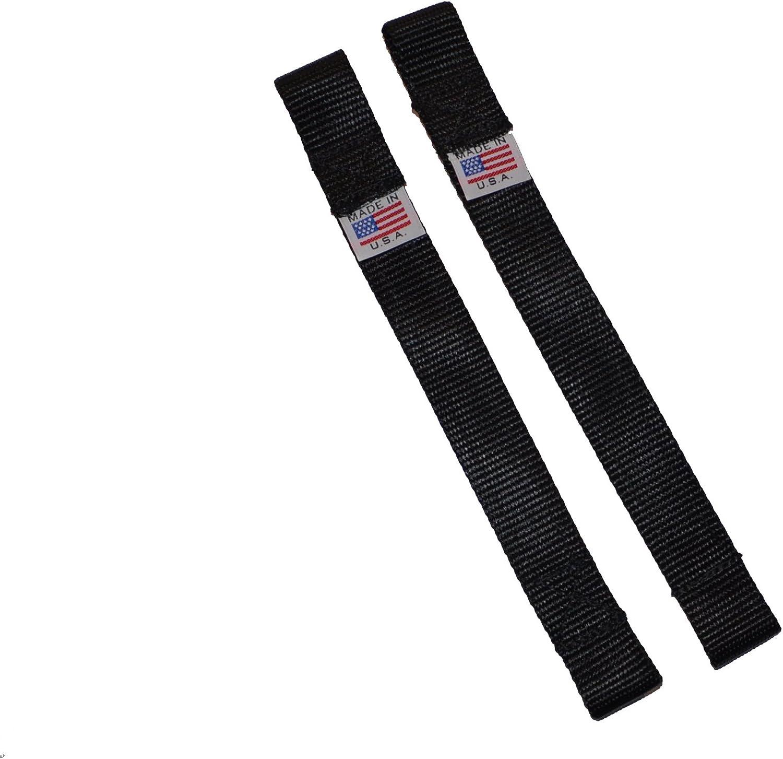 2 PCS Adjustable Door Limiting Check Strap for Jeep Wrangler TJ JK JL Load 1000 Lb 2PCS-Black