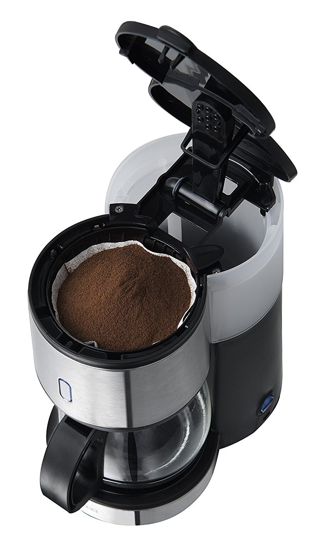 GOOD Morning SINGLE SET 1-Schlitz-Toaster Wasserkocher Fr/ühst/ücksset Kaffeemaschine Melissa Design Edelstahl