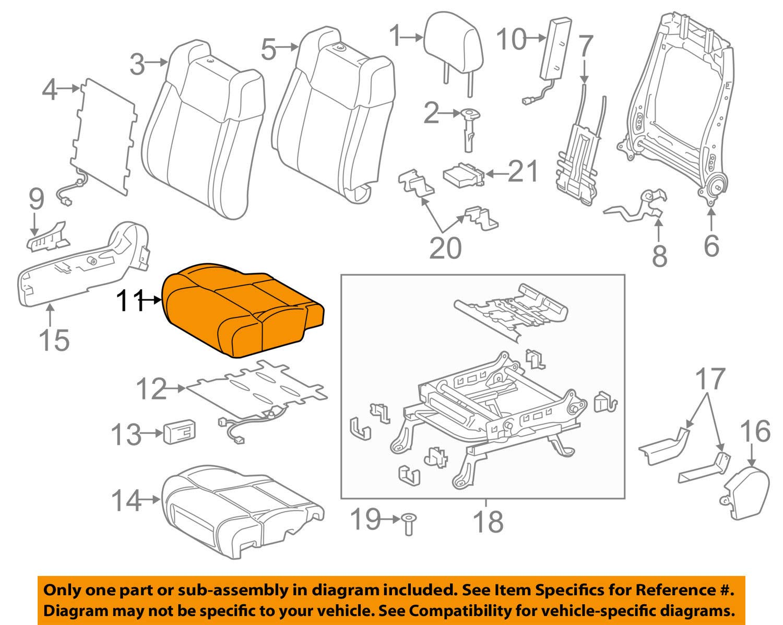TOYOTA Genuine 71071-0C670-C2 Seat Cushion Cover