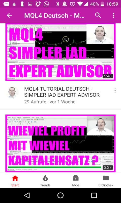 Amazon com: MQL4 Tutorial German: Appstore for Android