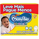Toalhas Umedecidas MamyPoko Dia&Noite, 200 unidades, Branco