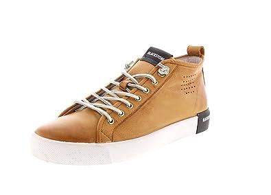 Herrenschuhe - Mid-Cut-Sneaker PM42 - Rust, Größe:45 EU Blackstone
