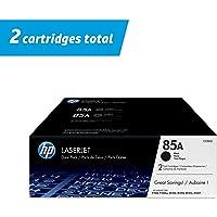 HP 85A | CE285D | 2 Toner Cartridges | Black