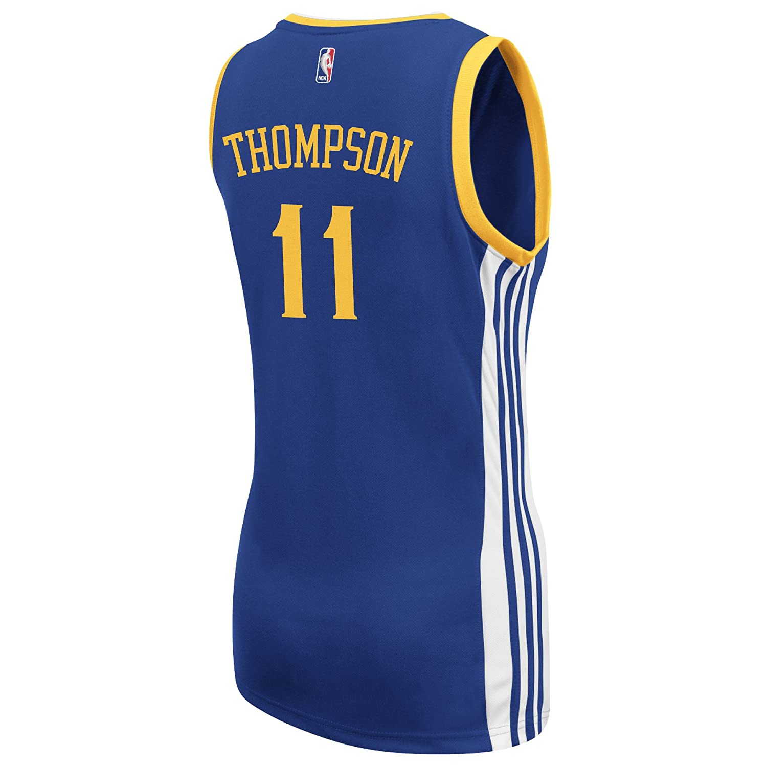 outlet store 8d110 fc03c adidas Klay Thompson Golden State Warriors Women's Replica Blue Jersey  (XX-Large)