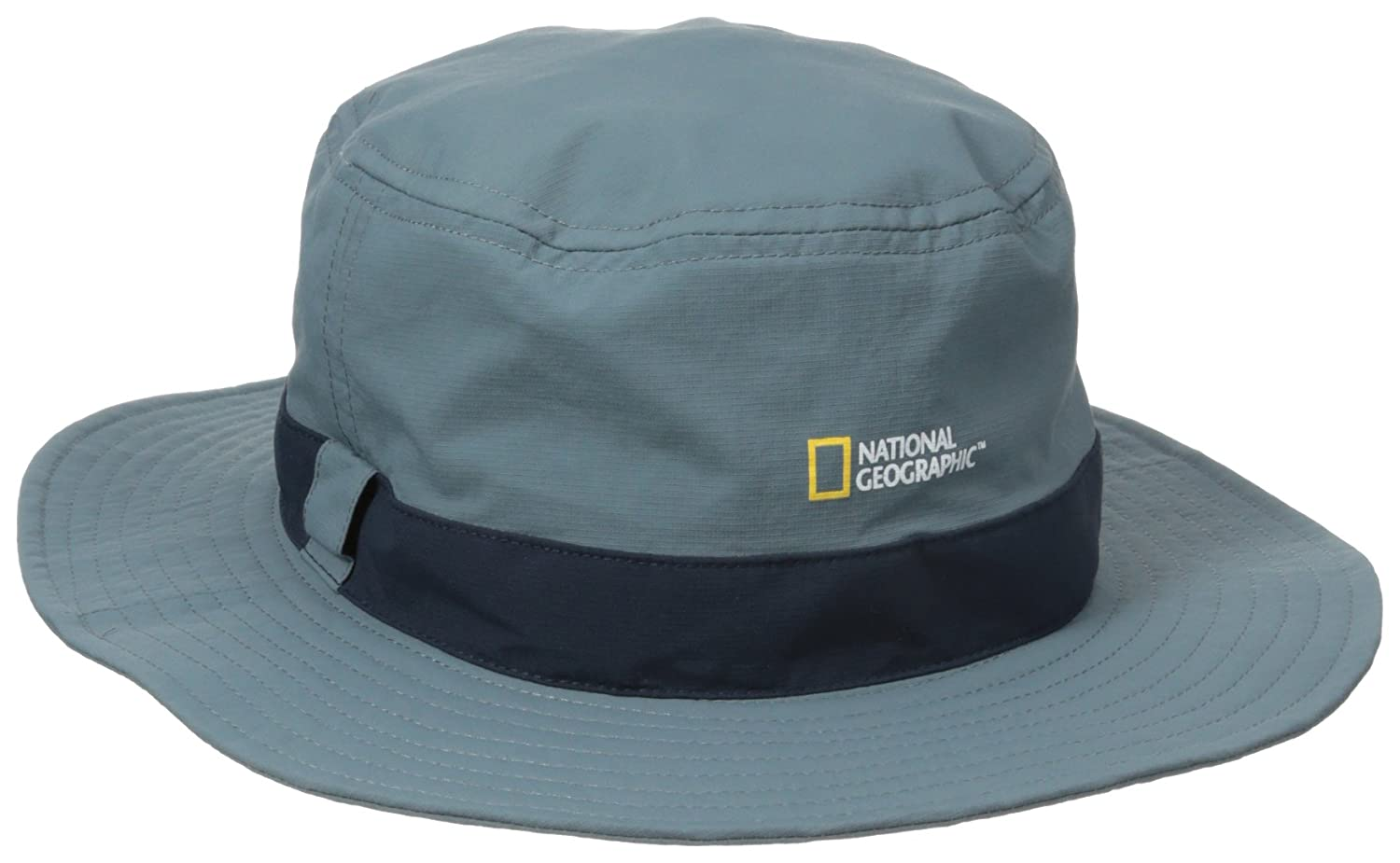 a8fe6cc9fc969a Amazon.com : NATIONAL GEOGRAPHIC Men's Logo Bucket Hat : Clothing