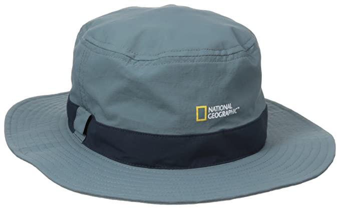 5ae60349d5459 Amazon.com   NATIONAL GEOGRAPHIC Men s Logo Bucket Hat   Clothing