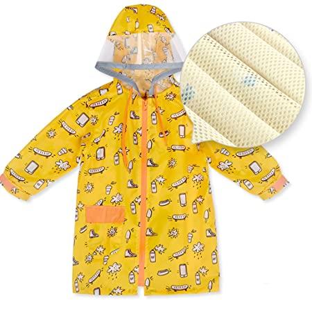 00c972a93744 rainwear Children s raincoats Boys and girls baby Yellow Blue Suit ...