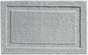 iDesign Spa Microfiber Polyester Bath Mat, Non-Slip Shower Accent Rug for Master, Guest, and Kids' Bathroom, Entryway, 34