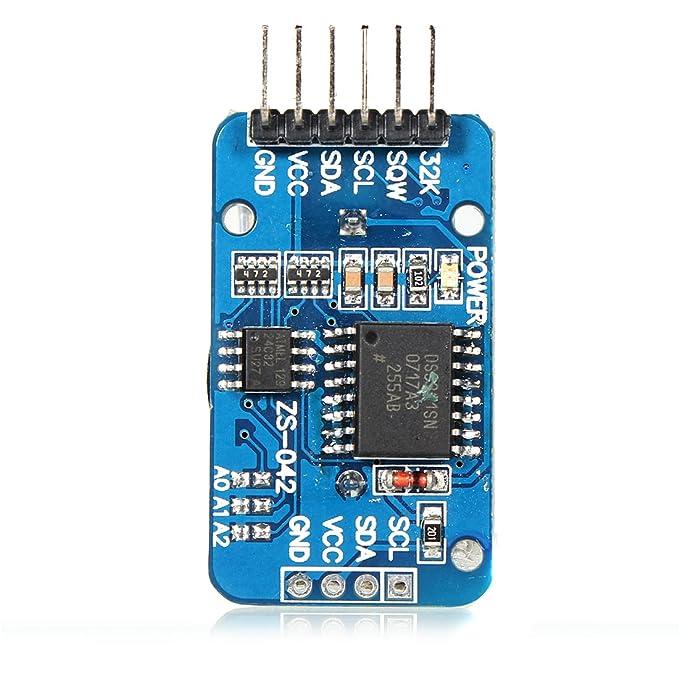 3 opinioni per DS3231AT24C32IIC Real Time Clock Memory modulo RTC per Arduino Uno Arm PIC
