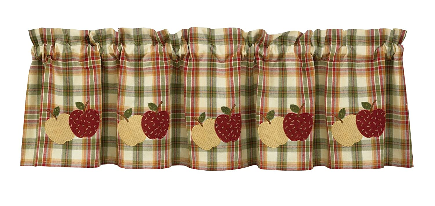 Country Apple Window Valance