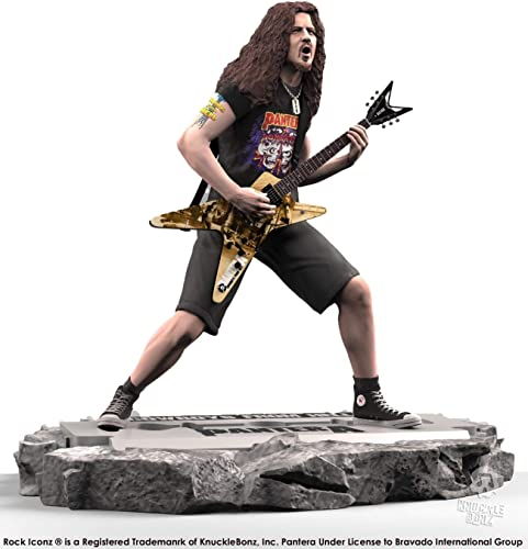 Knucklebonz Dimebag Darrell Pantera Limited Edition Collectible Statue – Rock Iconz, Officially Licensed, Includes CoA