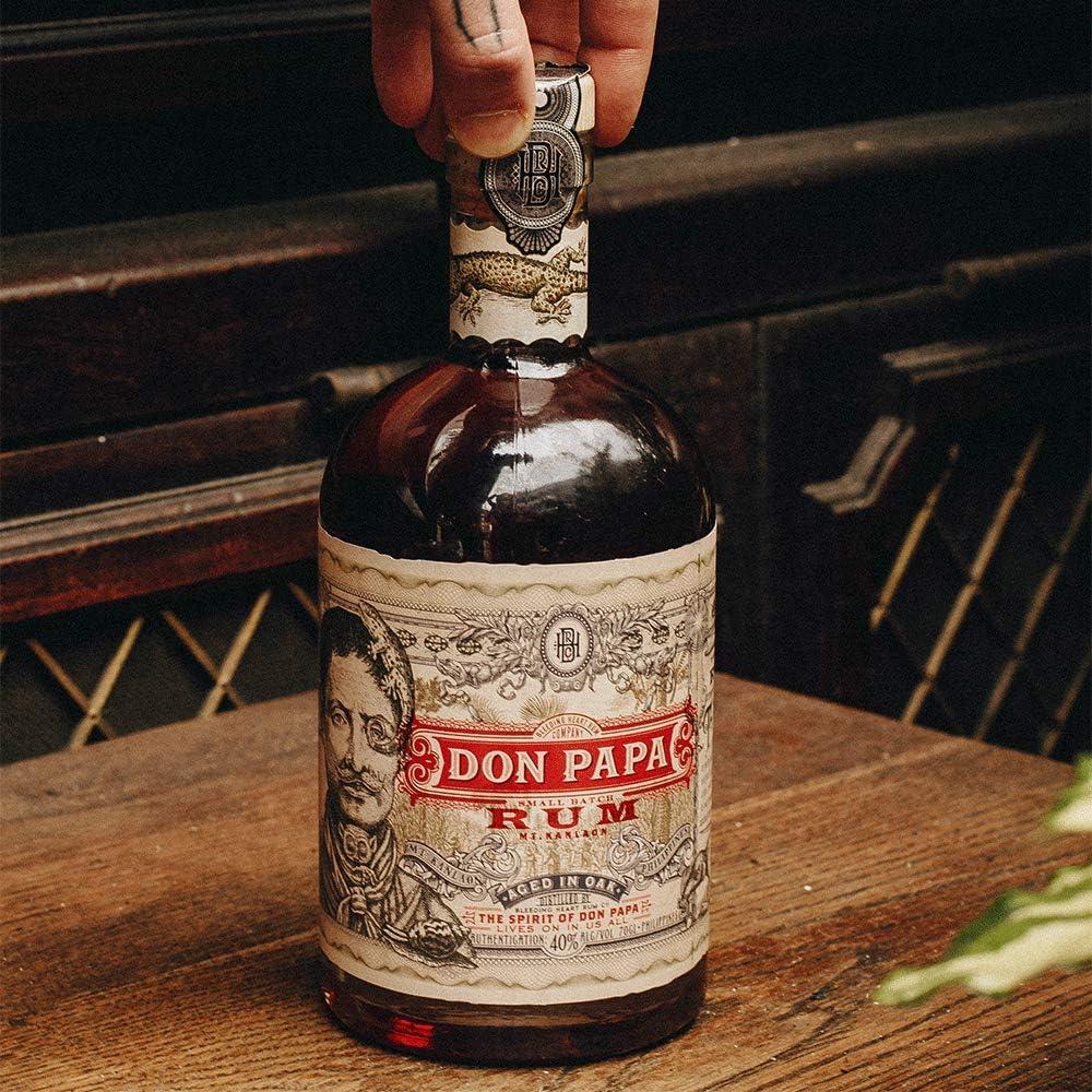 Don Papa Juego de vasos de 415 ml.