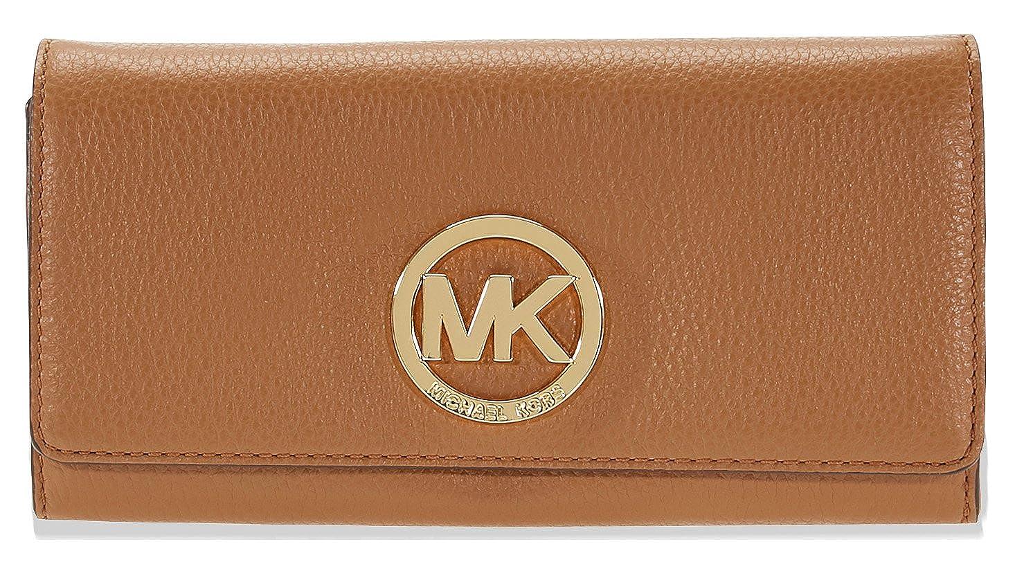 bc90f7124b25b4 Top2: Michael Kors Fulton Carryall Wallet - Acorn