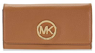5a6bddcf4e81 Image Unavailable. Image not available for. Color  Michael Kors Women s Fulton  Carryall Leather Wallet ...