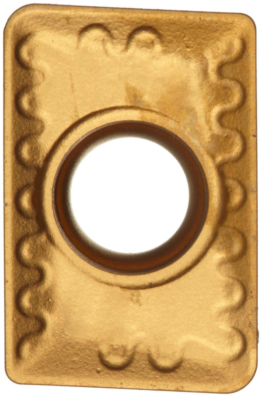 Rectangular Sandvik Coromant U-MAX  Carbide Milling Insert 0.032 Corner Radius TiCN Coating R215 Style Pack of 10 R21544090208MWL,0.094 Thick GC235 Grade